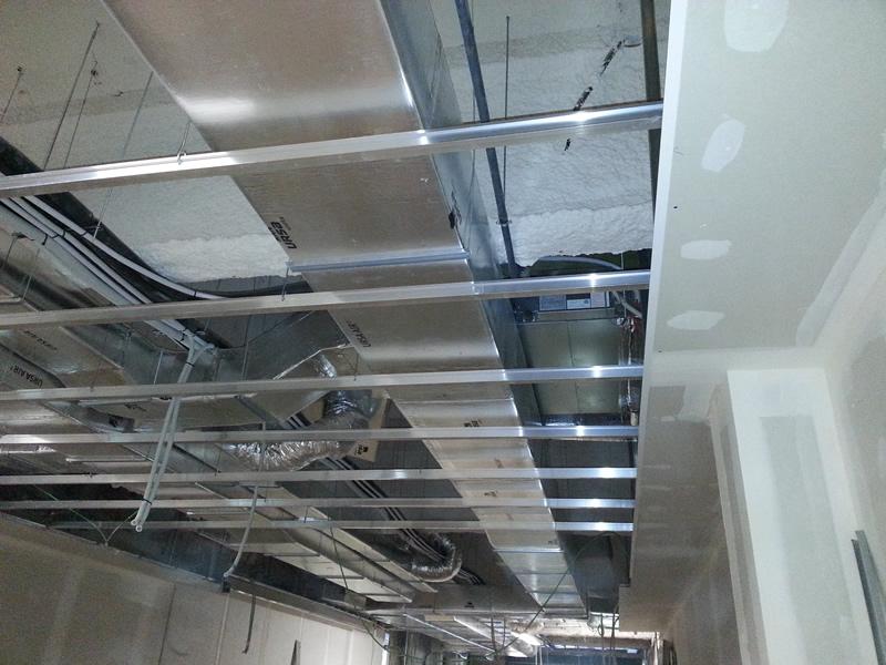 Falso techo metalico falsos techos plafones de aluminio - Falso techo decorativo ...